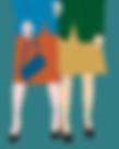 Fashion snapshot women skirts heels | Illustration diigital