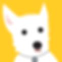 Westie Puppy Dog  | Illustration digital cute
