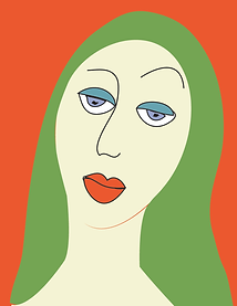 Woman Not Impressed | Illustration digital