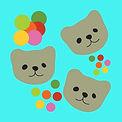 Cute Teddy Bear Heads | Illustration digital