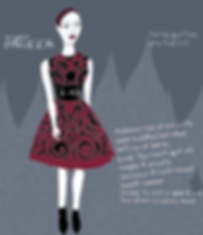 Elsa Schiaparelli (Fashion Designer) fashion show dress Sarah Burton Portrait