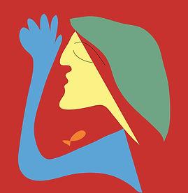 Woman Dreaming | Illustration digital