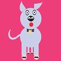 Puppy Dog  | Illustration digital cute
