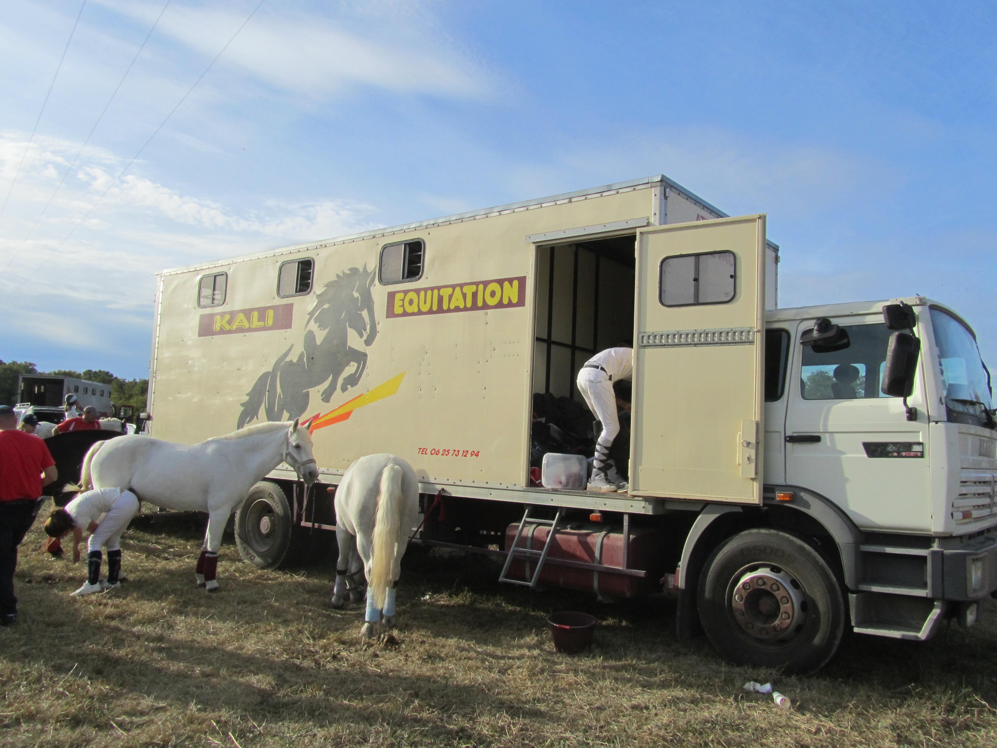 Camion en concours