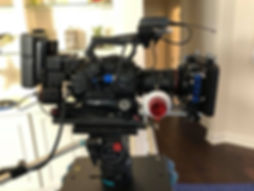 My Sony FS7 setup on a Sachtler Video 20 head attached to a Dana Dolley. Director of Photography. Camera Operator.