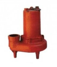 Bomba Sumergible 1.5 HP 127V Monofasico Doble Aspas para Agua Sucia