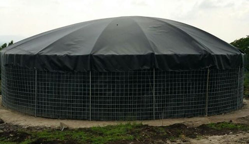 Tanque reservorio de 3.10m de geomembrana