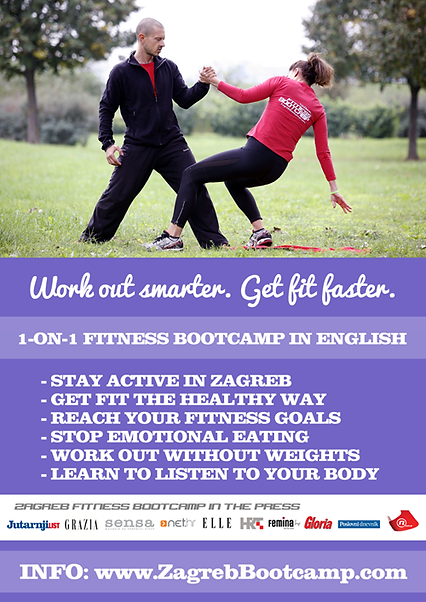 Zagreb Fitness Bootcamp English