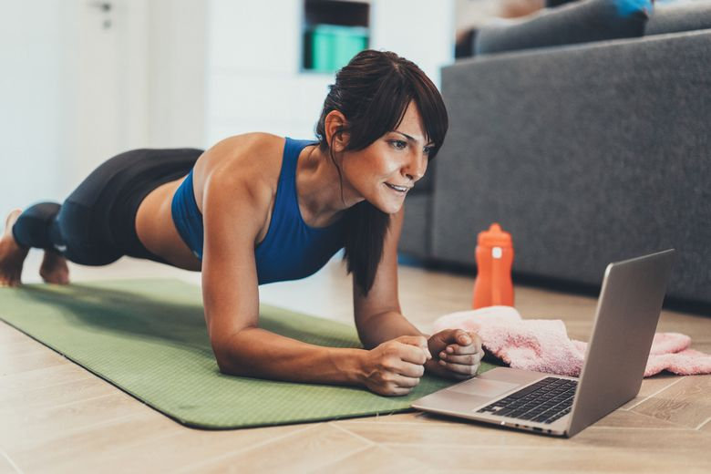 Online Fitness Bootcamp trening