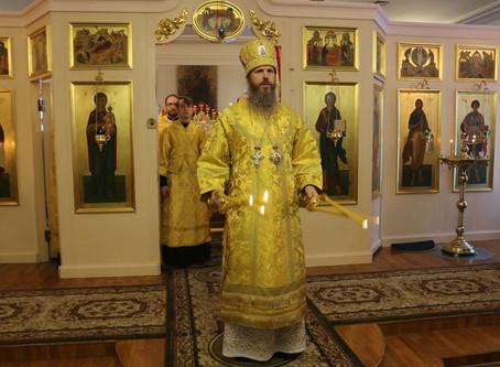 Богослужение епископа Выксунского и Павловского Варнавы