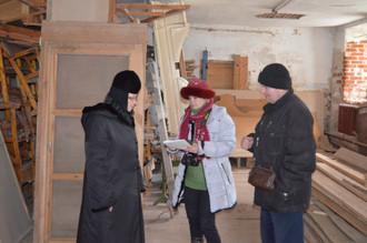 Рабочее совещание по реставрации северо-западного келейного корпуса