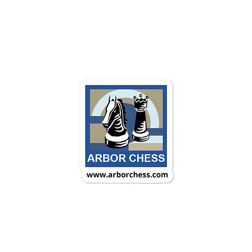Arbor Chess Bubble-free stickers