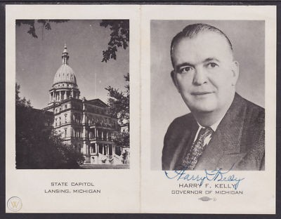 Harry F. Kelly, Michigan Governor 1942-1947
