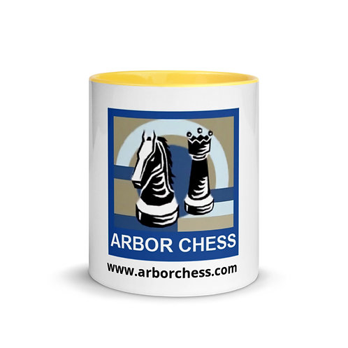 Arbor Chess Mug with Color Inside (4 colors)