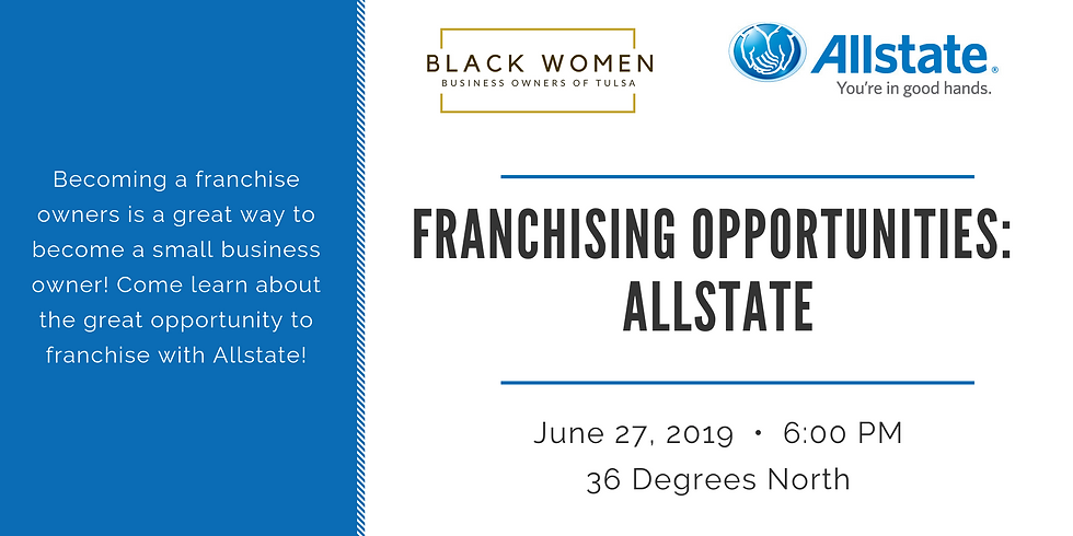 Franchising Opportunities: Allstate