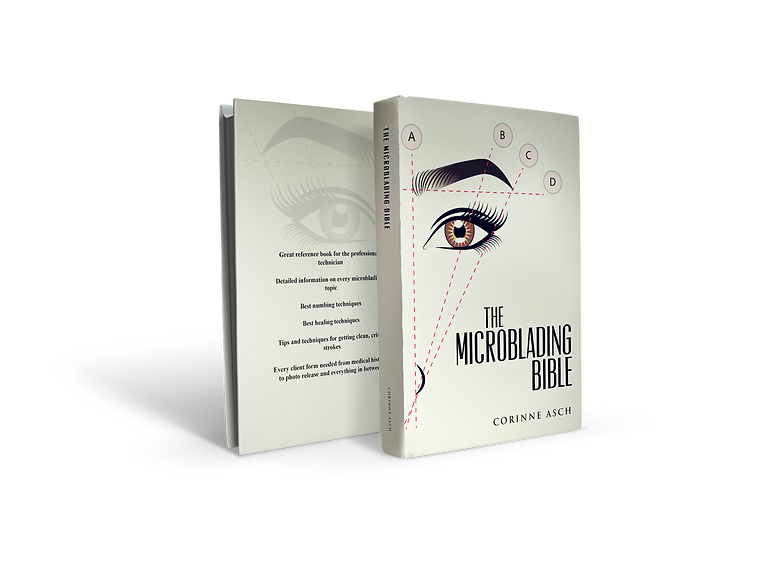 The Microblading Bible Book Cover