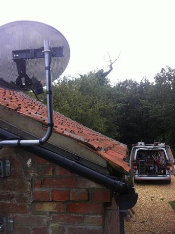 aerial installaton kettering