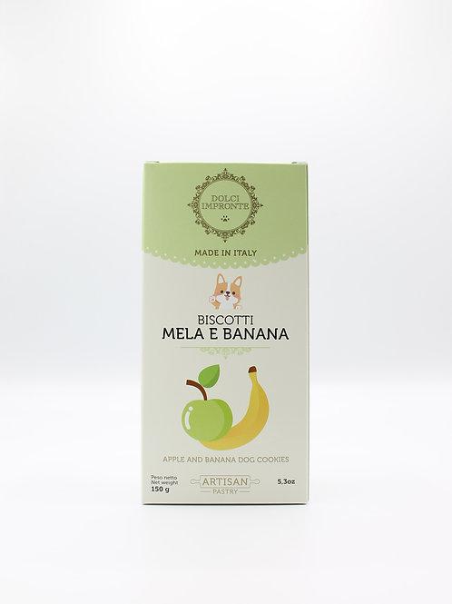 Biscotti Mela e Banana