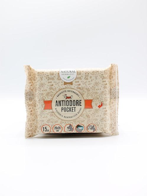 Salviette Antiodore Tascabile Pocket