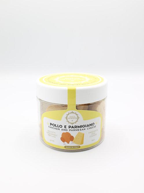 Biscotti Pollo e Parmigiano