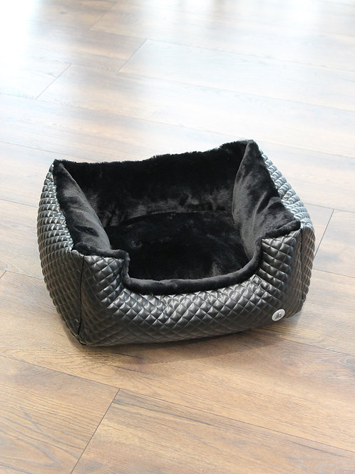 Italy Bed Moonless Black