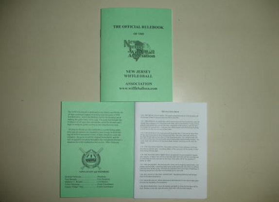 Official NJWA Rule Book
