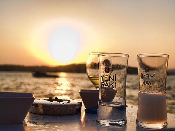 Raki by the Sea
