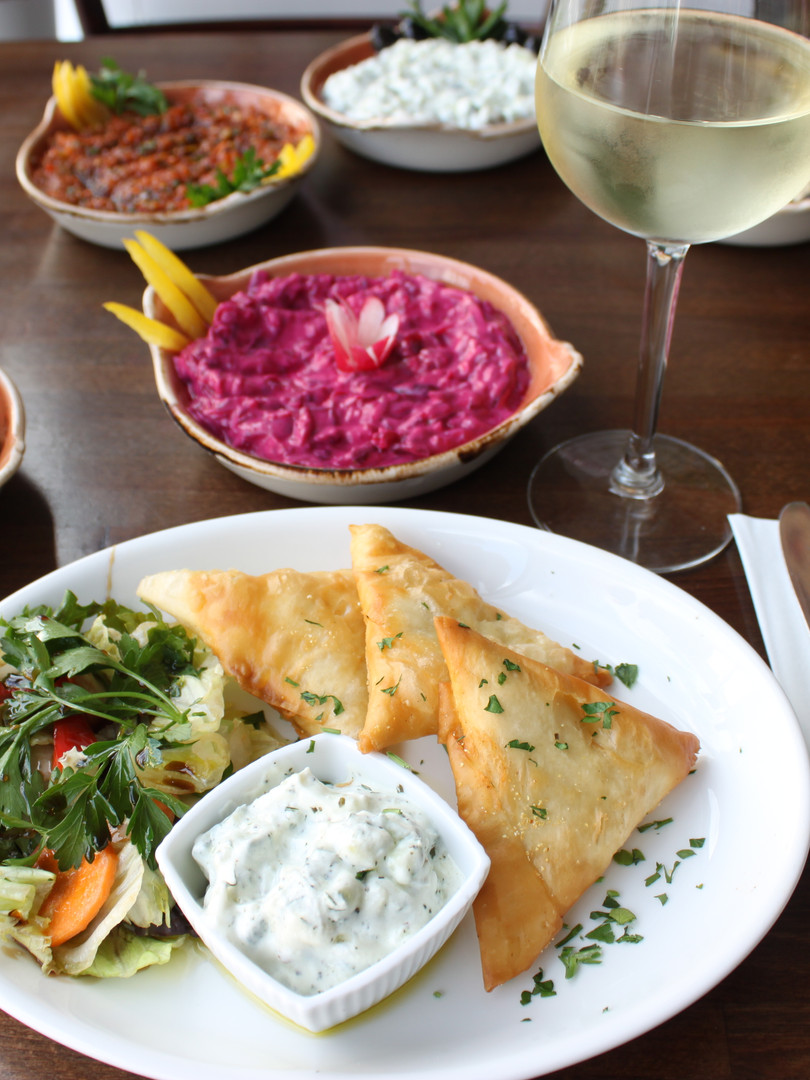 Have You Tried Our Hot Meze Starters?