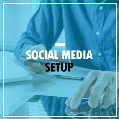 Social Media Planning and Setup