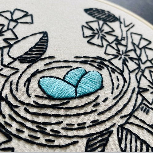Nest Embroidery Kit
