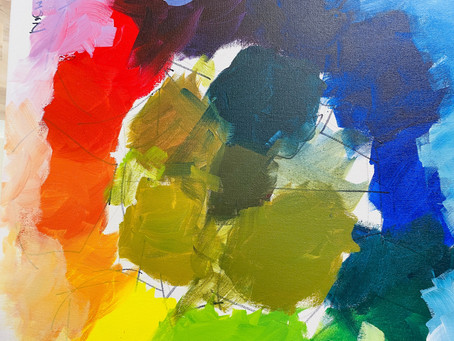 Color Inspirations Chapter 1, Part Two - A Color Mixing Demonstration