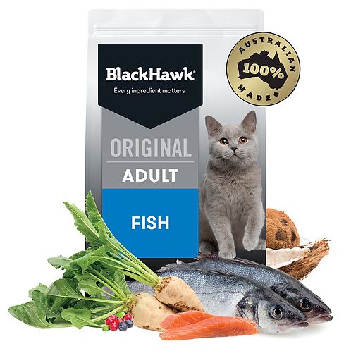 Black Hawk  Fish 3kg Cat Feline
