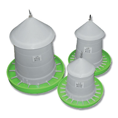 Poultry Feeder - With Lid