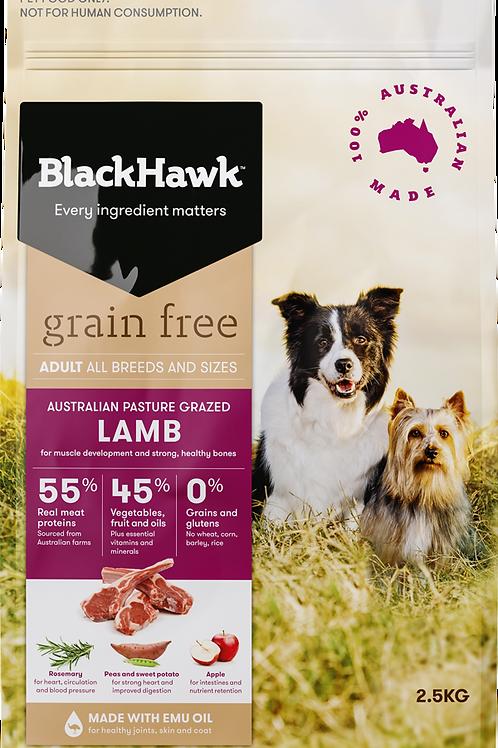 Blackhawk Grainfree Lamb 7kg