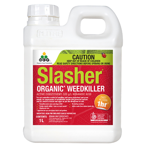 Slasher Organic Weed Killer Concentrate 1L