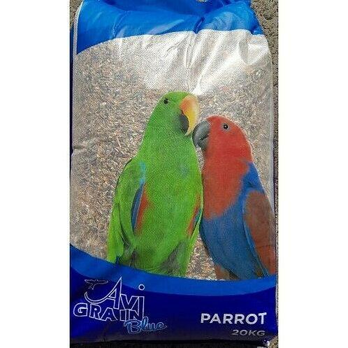 Avigrain Parrot Blue 20kg Bird Food