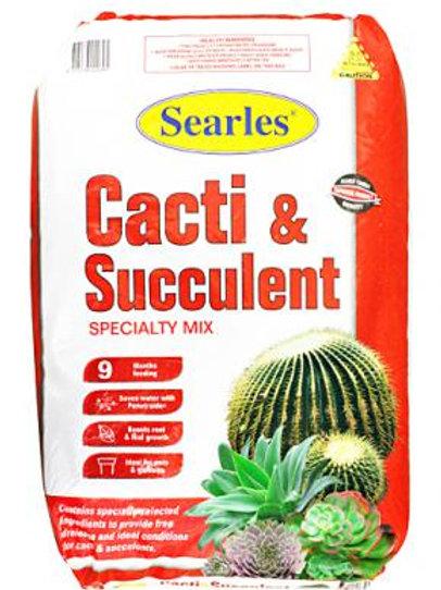 Searles Cacti & Succulent Mix 25Lt