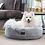 Thumbnail: Harley Dog Bed Artic Faux Fur Medium