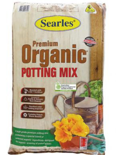 Searles Premium Organic Potting Mix 30Lt