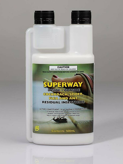 Superway Cockroach Spider & Ant Killer RESIDUAL INSECTICIDE 500ml