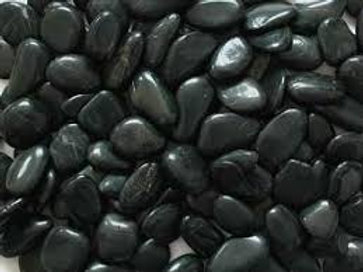 Black Polished Pebble 20kg