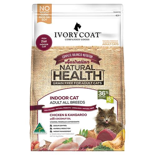 Ivory Coat Grain Free Dry Cat Food Adult Indoor Chicken & Roo 3kg