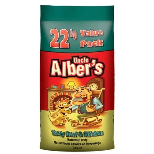 Uncle Alber's Tasty Beef & Chicken 22kg