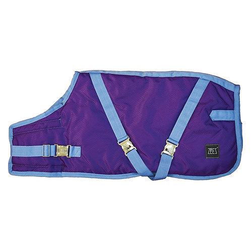 ZEEZ SUPREME DOG COAT  Grape Purple/ Blue