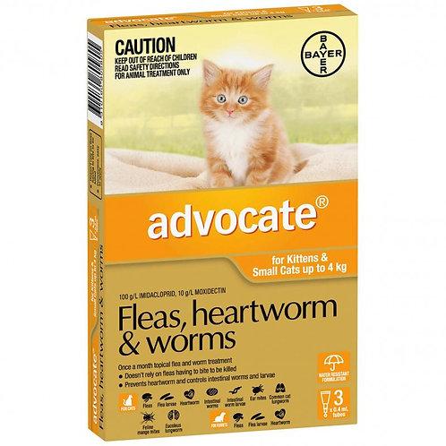 Advocate Flea & Worm Treatment <4kg