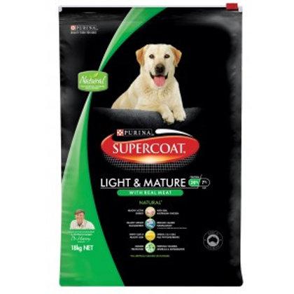 Supercoat Adult Light & Mature 20kg
