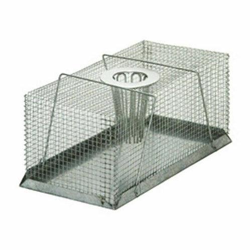 Wire Rat Traps - Top Hole Entry Large- 12cm High x 14cm Wide x 30cm Long