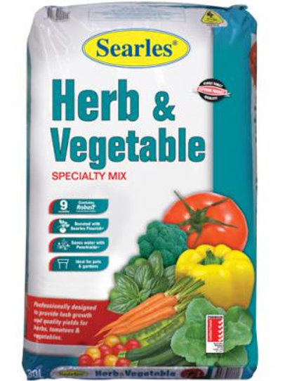 Searles Herb & Veg Specialty Mix 30Lt