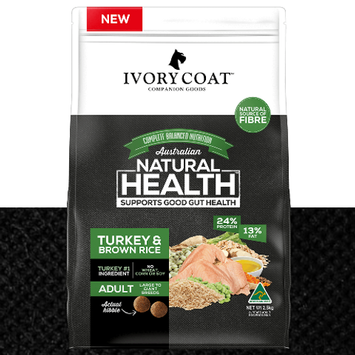 Turkey & Brown Rice Large Breed