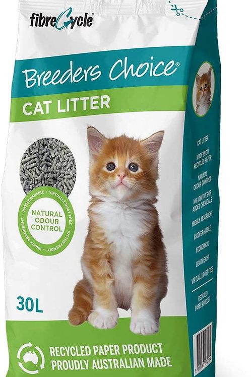 Breeders Choice Cat litter, 30L